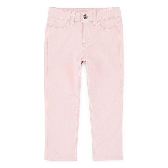 Okie Dokie - Toddler Girls Straight Corduroy Pant