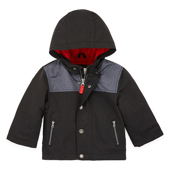 Carter's Boys Hooded Water Resistant Midweight Jacket-Baby