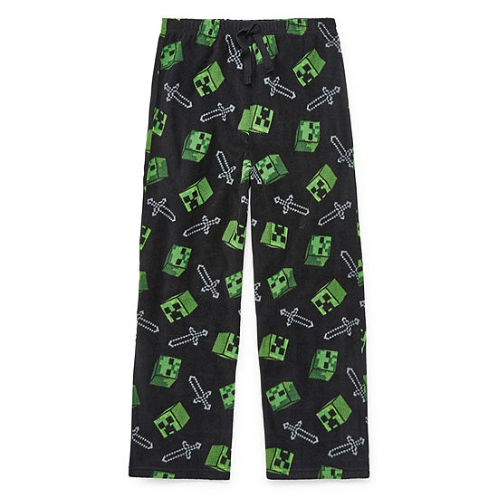 Little Kid / Big Kid Boys Minecraft Pajama Pants