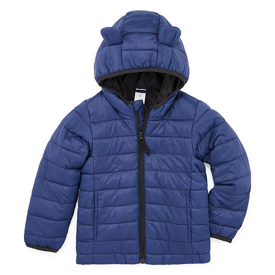 Okie Dokie - Boys Midweight Puffer Jacket-Toddler