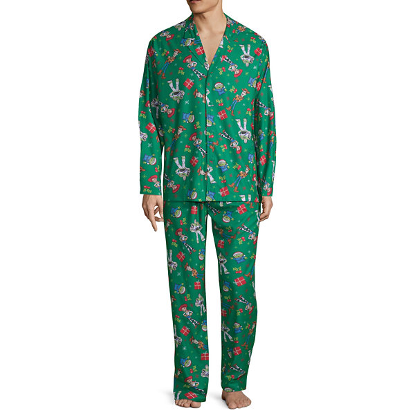 Disney Collection Mens 2-pc. Toy Story Pant Pajama Set