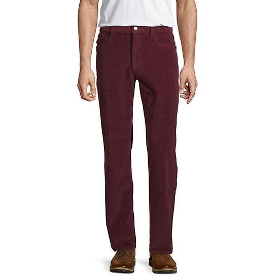 St. John's Bay Men's Straight Fit Stretch Corduroy Pant