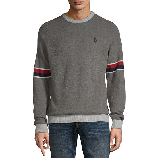 U.S. Polo Assn. Crew Neck Long Sleeve Pullover Sweater