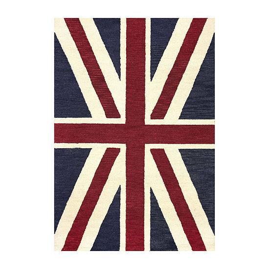 nuLoom Union Jack Rug