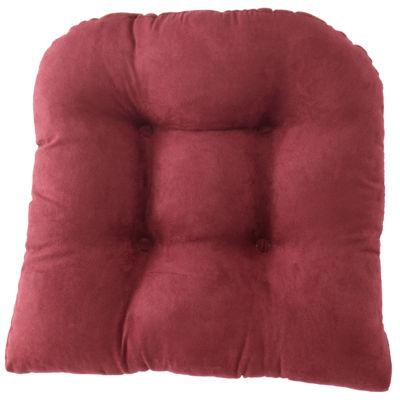 """Klear Vu Microsuede Gripper�� 2-Pack 3"""" Chair Cushions"""