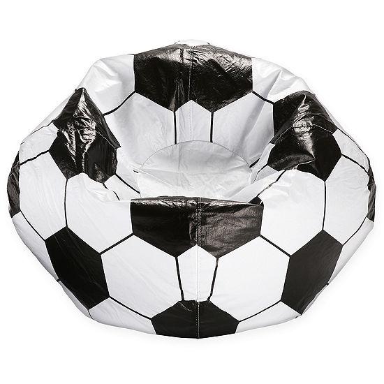 Terrific Soccer Beanbag Chair Jcpenney Machost Co Dining Chair Design Ideas Machostcouk