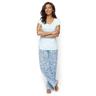 jcpenney.com | Liz Claiborne® Short-Sleeve Sleep Tee or Knit Sleep Pants