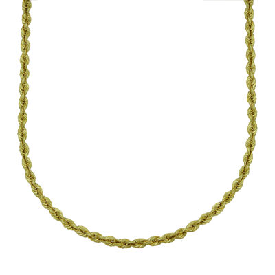 Majestique™ 18K Yellow Gold Hollow Rope Chain Necklace