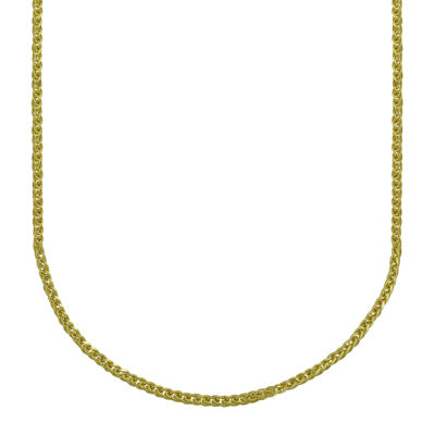 Majestique™ 18K Yellow Gold Hollow Wheat Chain Necklace