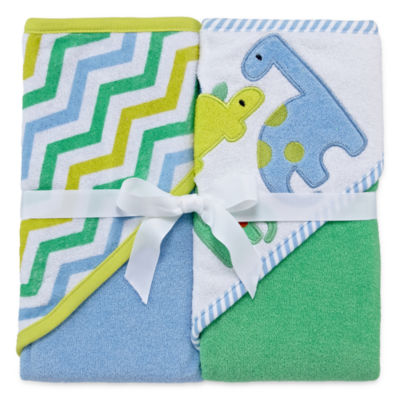 Okie Dokie Boy Hooded Towel 2 Pack