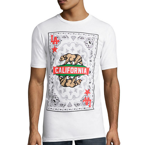 Short-Sleeve California Playing Card Tee