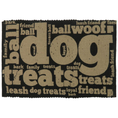 P. B. Paws by Park B. Smith® Family Treats Cotton Pet Mat