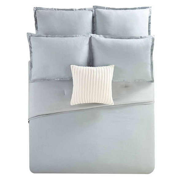 Studio™ Caden Linen Blend 3-pc. Comforter Set