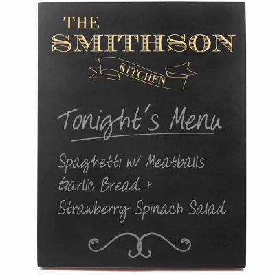 Cathy's Concepts Custom Kitchen Chalkboard Sign