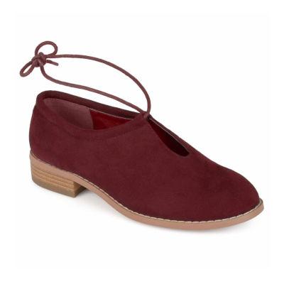 Journee Collection Womens Petal Slip-On Shoe Round Toe