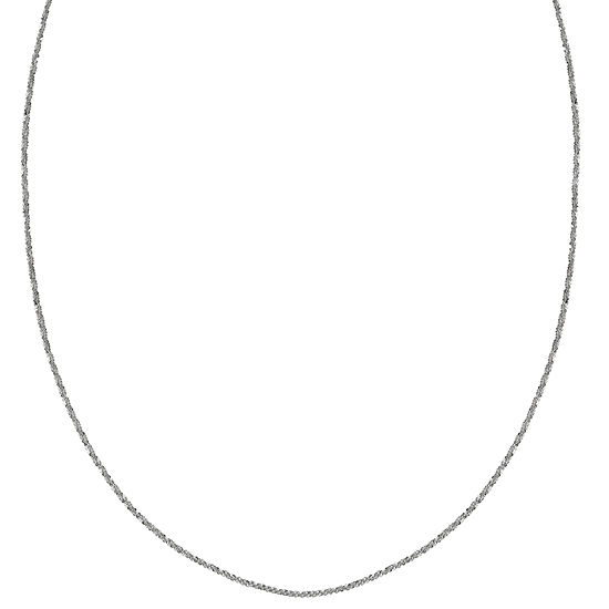 Silver Treasures 18 Inch Chain Necklace