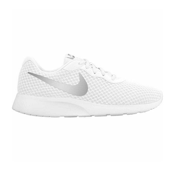 womens white nike tanjun shoes