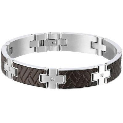 Sterling Silver 8 1/2 Inch Solid Link Link Bracelet