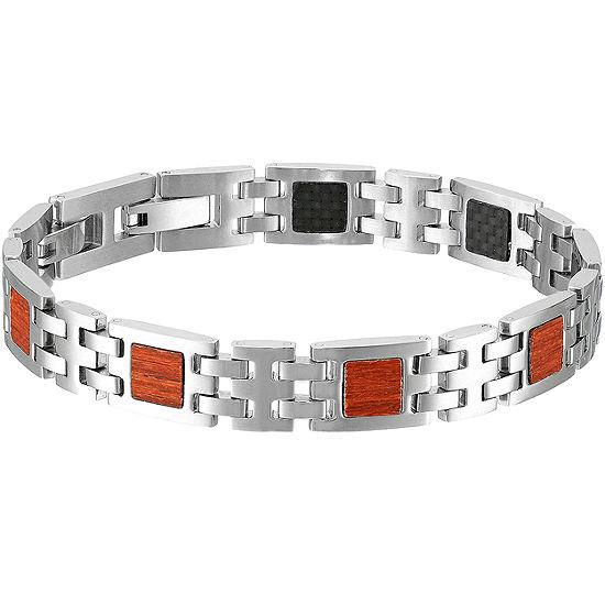 Sterling Silver 9 Inch Solid Link Link Bracelet