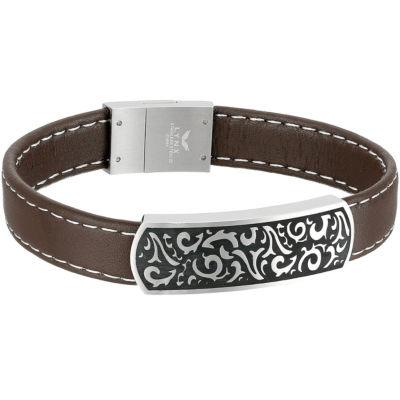 8 1/2 Inch Solid Id Bracelet
