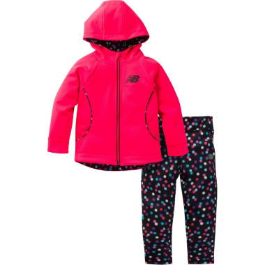 New Balance 2-pc. Legging Set-Baby Girls