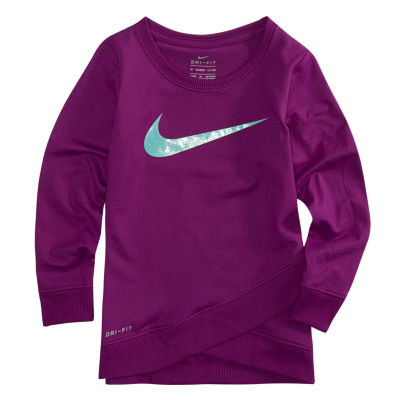 Nike Crossover Swoosh Tunic Top - Preschool Girls