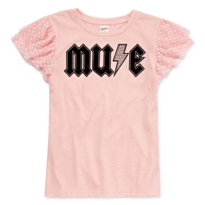 Arizona Mesh Short Sleeve Rock Tee - Girls' 7-16 & Plus