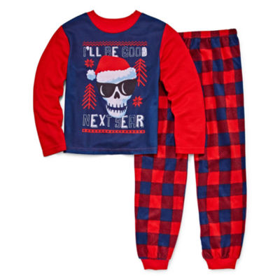 Skeleton 2 Piece Pajama Set - Boys Big Brother 4-20