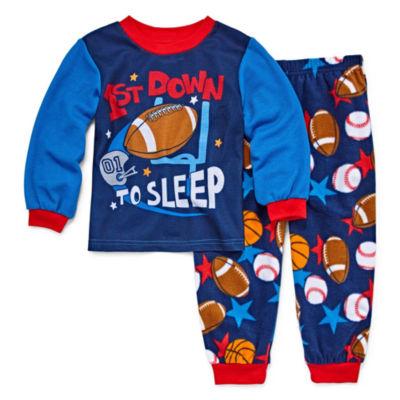 All Sport 2 Piece Pajama Set - Toddler Boys