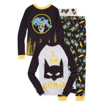 Batman Pajama Set Boys Husky