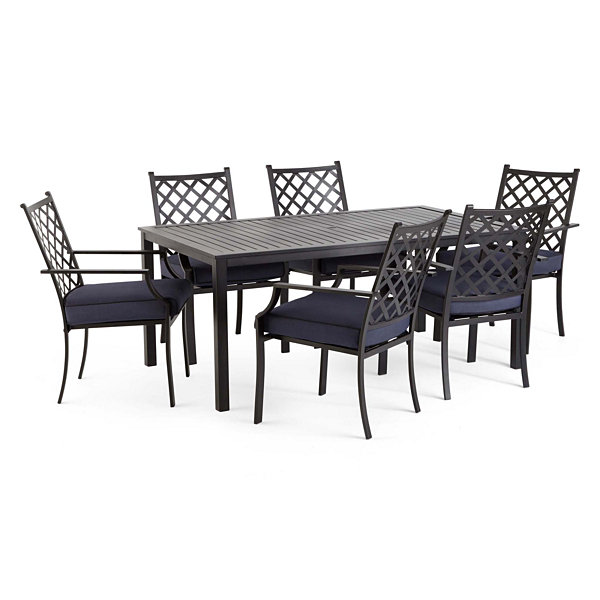 Outdoor Oasis San Luis 7 Pc Patio Dining Set