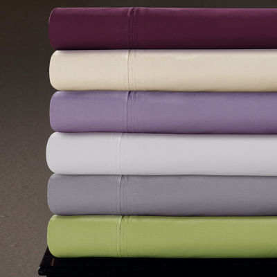 Tribeca Living 350 Thread Count Percale Sheet Set