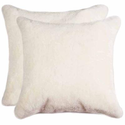 New Zealand Sheepskin Throw Pillow