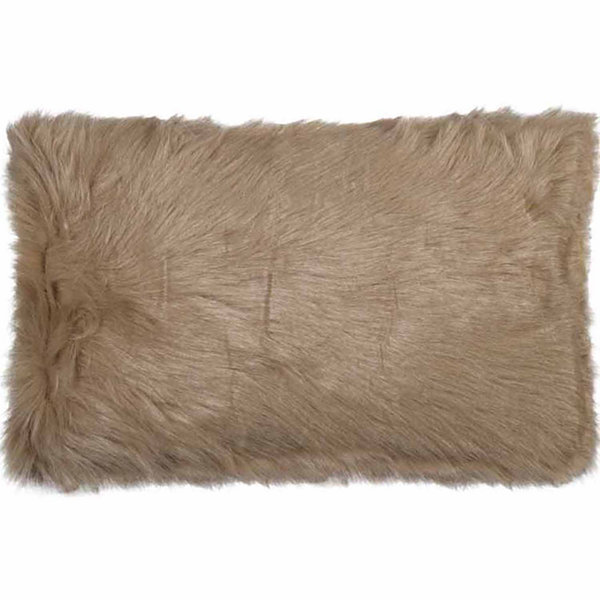 New Zealand Sheepskin Throw Pillow