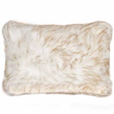Nelson Sheepskin Throw Pillow