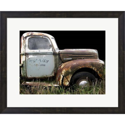 1947 Ford 1 Ton Framed Print Wall Art