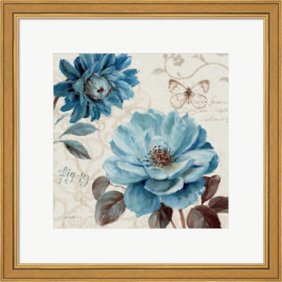 Metaverse Art A Blue Note III Framed Print Wall Art