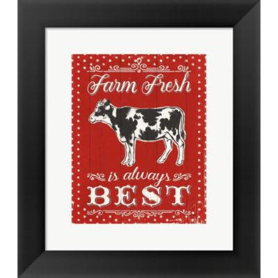 Farmers Market VII Framed Print Wall Art