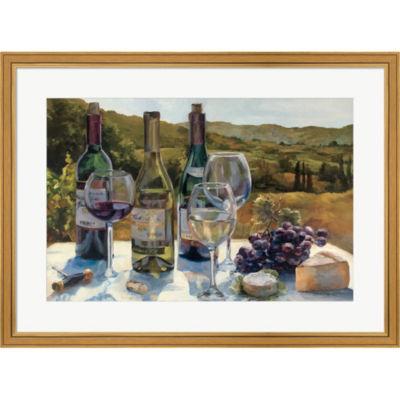 A Wine Tasting Framed Print Wall Art