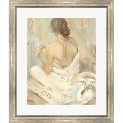 Metaverse Art Abstract Figure Study II Framed Print Wall Art