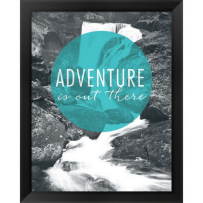 Metaverse Art Adventure Is Out There Framed PrintWall Art