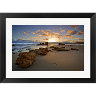 Metaverse Art Aireys Inlet I Framed Print Wall Art