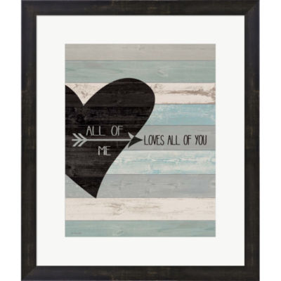 All Of Me Framed Print Wall Art