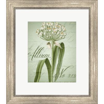 Metaverse Art Allium Framed Print Wall Art