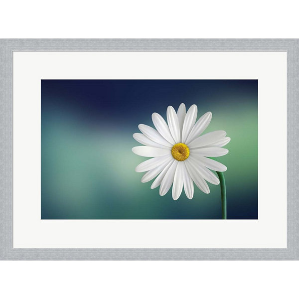 Metaverse Art Flower Framed Print Wall Art