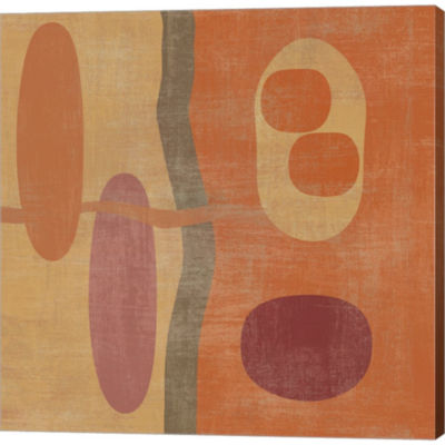 Abstract IV Gallery Wrapped Canvas Wall Art On Deep Stretch Bars