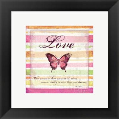 For My Heart I Framed Print Wall Art