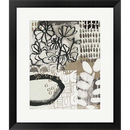 Metaverse Art Autumn Abstract II Framed Print WallArt