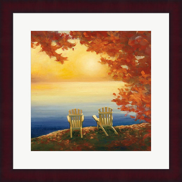 Autumn Glow II Framed Print Wall Art