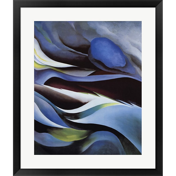 Metaverse Art From The Lake No. 1 Framed Print Wall Art